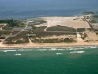 Pulau Padre Selatan, TX: Aerial photo tour of South Padre Island