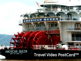 Louisiana: Mississippi River: New Orleans – Travel Video PostCard™