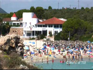 Thomson.co.uk video of the RIU CLUB TROPICANA in CALAS DE MAJORCA, Majorca