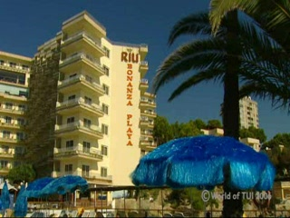 Islas Baleares, Espaa: Thomson.co.uk video of the RIU PALACE BONANZA PLAYA in ILLETAS, Majorca