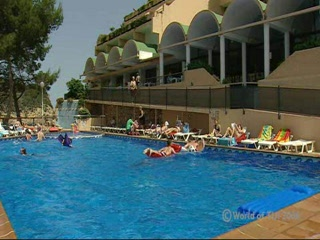 Ίμπιζα, Ισπανία: Thomson.co.uk video of the SAN MIGUEL HOTEL (SF) in PUERTO SAN MIGUEL, Ibiza