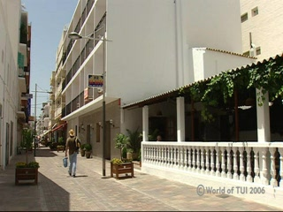 Thomson.co.uk video of the SA ROTA in Santa Eulalia, Ibiza