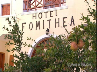 Thomson.co.uk video of the Fomithea in Kamari, Santorini