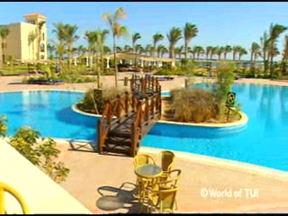Syd Sinai, Egypten: Thomson.co.uk video of the JAZ MIRABEL BEACH in SHARM EL SHEIKH, Egypt - Sharm
