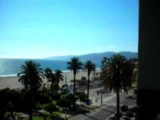 Santa Mnica, CA: 19 - View from my balcony in Santa Monica