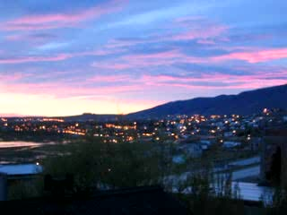 El Calafate, Argentina: Morning Sunrise
