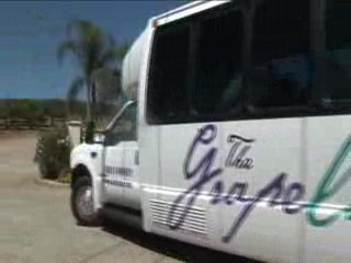 Temecula, Калифорния: The Grapeline - the wine country shuttle