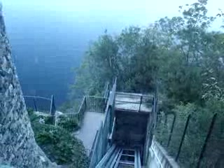 Lac de Cme, Italie : Funicular Ride 