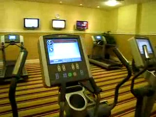 Sheraton Midwest City Hotel: The gym at the Sheraton Midwest City Oklahoma