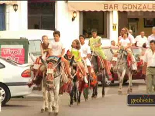 Mijas, Spanien: Burro Taxi