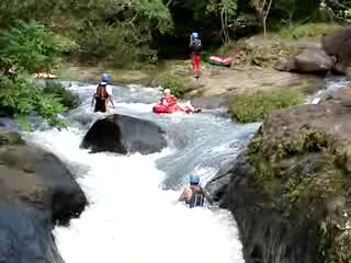 Rincon de La Vieja, Kostaryka: White Water Tubing