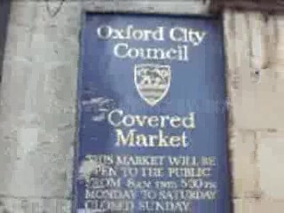 , UK: Oxford Covered Market