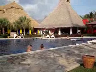 Sonsonate, El Salvador: Royal Decameron Bambu area