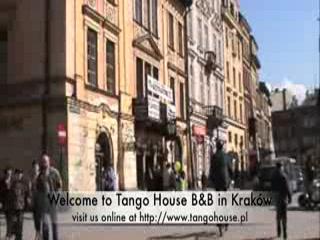 Krakau, Polen: Walk Through Krakow and Tango House