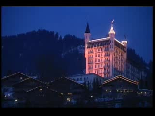 Gstaad Palace Hotel, Gstaad, Bernese Oberland, Swiss Alps, Switzerland