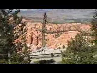 The Bryce Canyon Overlloks