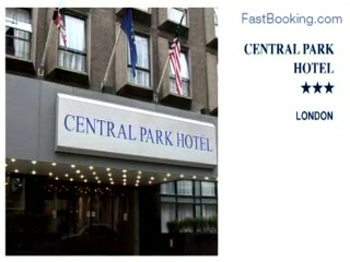 Fastbooking.com presents Central Park Hotel, London, UK