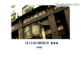 Fastbooking.com presents Hotel Le Clos Medicis, Paris, France