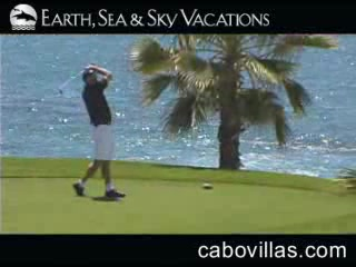 Golfing in Los Cabos, Mexico