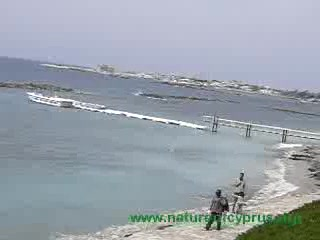 Paphos beaches - tamed or wild