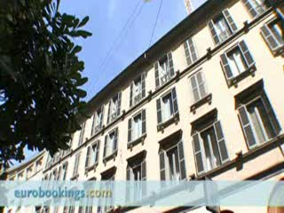 Starhotels Rosa Grand: Video clip of Starhotels Hotel Rosa in Milano by EuroBookings.com