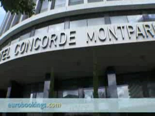 Video clip from Hotel Concorde Montparnasse Paris by EuroBookings.com