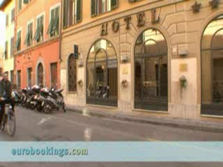 Video clip from Hotel Bologna in Pisa Provided by EuroBookings.com
