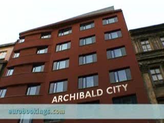 Archibald City Hotel: Video clip Hotel Archibald City in Prague Provided by EuroBookings.com