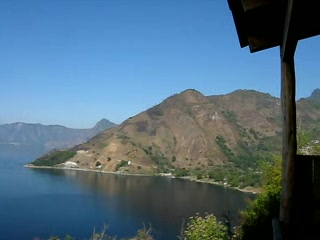 Lake Atitlan, Guatemala: View of Atitlan from Lomas de Tzununa