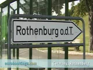 Video highlights from Rothenburg Germany provided by EuroBookings.com