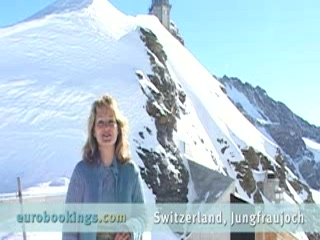 Video highlights from Jungfraujoch Switzerland by EuroBookings.com