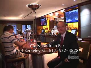 Loews Boston Back Bay Hotel: Cuff's An Irish Bar