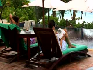 Mahe Island, Seychellerne: kuoni.co.uk video presenting Banyan Tree, Seychelles