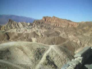 Death Valley National Park, Californië: Video zabriskie point