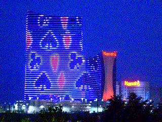 Atlantic City, NJ: Marina Light Show