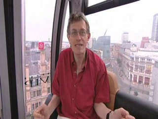 Greater Manchester, UK: Englant TV - Manchester with Simon Calder