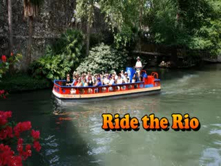 -, : San Antonio (Texas) Riverwalk Cruise