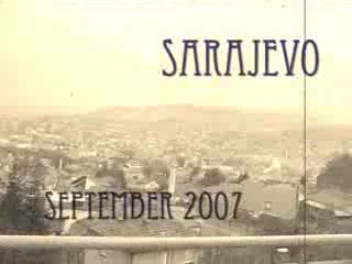 My visit to Sarajevo