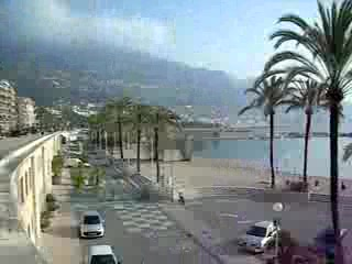 La marina de Menton