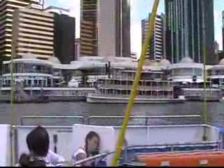 CityCat ride - brisbane
