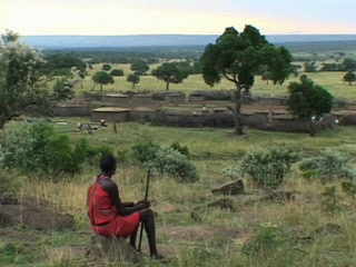 Kenya: At home with the Masai