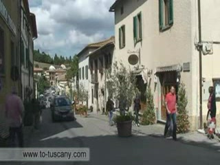 Tour of Castellina in Chianti, Tuscany