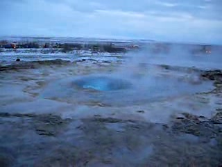 Reykjavik, Island: vid stokkur