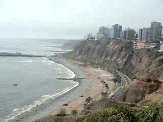 Lima, Perù: Miraflores near my apartment
