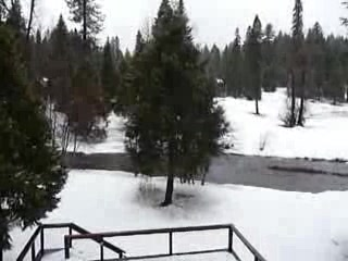 Yosemite Big Creek Inn: Big Creek January 2009
