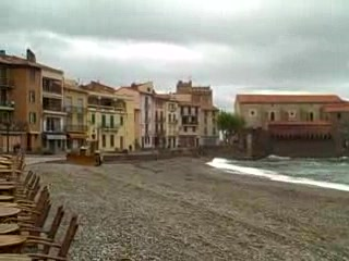 Collioure, : Rainy day in Collioure