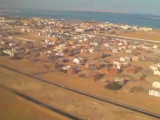 Хургада, Египет: Hurghada from the air