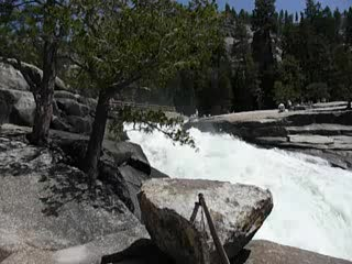 Yosemite-Nationalpark, Kalifornien: Nevada Falls
