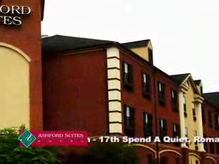 Ashford Suites Hotel: Great for Business and Special Romanic Occassions