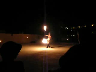 Hacienda Tres Rios: Fire Show woman